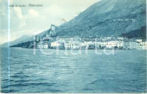 1930 ca MALCESINE (VR) Panorama dal Lago di GARDA *Cartolina FP NV