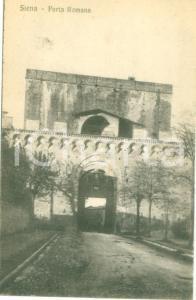 1930 ca SIENA veduta di Porta Romana *Cartolina postale FP NV