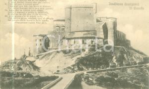 1930 ca FOSDINOVO (MS) Veduta del Castello MALASPINA *Cartolina FP NV