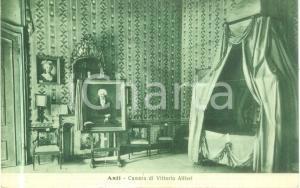 1931 ASTI Camera da letto di Vittorio ALFIERI *Cartolina postale FP VG