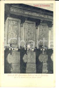 1910 ca CAMERINO (MC) Coro di Domenico INDIVINI già in SANTA CHIARA *Cartolina
