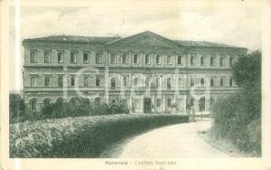 1919 MACERATA La facciata del Convitto Nazionale *Cartolina FP VG