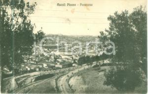 1926 ASCOLI PICENO Panorama della città dal colle *Cartolina FP VG