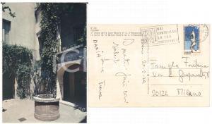 1979 PESCARA Casa D'ANNUNZIO *Cartolina TIMBRO Hai controllato la tua pressione?