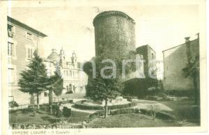 1940 VARESE LIGURE (SP) La torre del Castello Cartolina FP VG