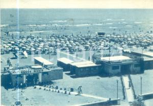 1962 CERVIA (RA) La spiaggia e lo stabilimento balneare *Cartolina FG VG