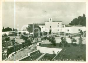 1952 SAN GIOVANNI ROTONDO Torpedoni al santuario di PADRE PIO *Cartolina FG NV