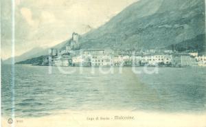 1930 ca MALCESINE (VR) Panorama dal lago di GARDA *Cartolina FP VG
