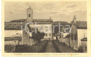 1930 ca POPPI (AR) Veduta di CAMALDOLI sopra FRASCATI *Cartolina FP NV