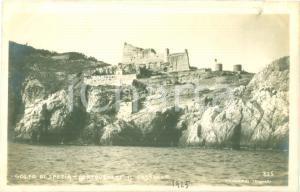 1925 PORTO VENERE (SP) Panorama del Castello sul Golfo *Cartolina FP NV