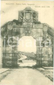 1916 AUGUSTA (SR) Antica Porta Spagnola all'ingresso della città Cartolina FP VG