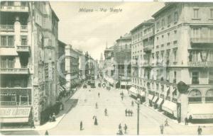 1925 ca MILANO Cartoleria Litografia GUSSONI in Via DANTE *Cartolina FP NV
