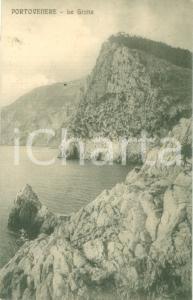1930 ca PORTO VENERE (SP) Il golfo e le Grotte *Cartolina FP NV