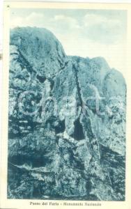 1935 ca FERMIGNANO (PU) Il Passo del FURLO Monumento Nazionale *Cartolina FP NV