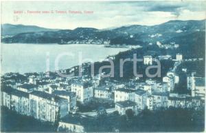1935 ca LERICI (SP) Panorama verso SAN TERENZO PERLUSOLA *Cartolina FP NV