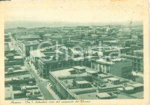 1973 MESSINA Via Primo Settembre vista dal campanile del DUOMO *Cartolina FG VG