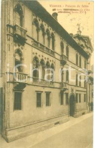 1935 ca VICENZA Palazzo DA SCHIO detto Casa Aurea *Cartolina postale FP VG