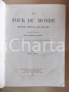 1881 LE TOUR DU MONDE Illustré par nos plus célèbres artistes I-II semestre