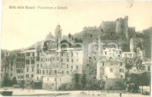 1925 ca PORTO VENERE (SP) Panorama con il Castello *Cartolina FP NV