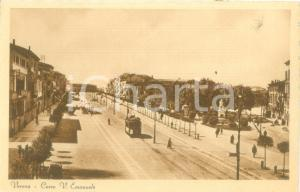 1935 ca VERONA Filobus in Corso Vittorio Emanuele *Cartolina postale FP NV