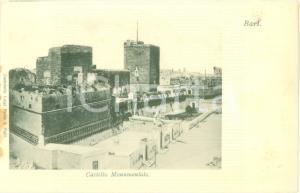 1900 ca BARI Veduta del Castello Monumentale Cartolina FP NV