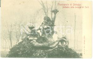 1900 ca BOLOGNA Fontana di Diego SARTI alla MONTANGOLA Cartolina FP NV