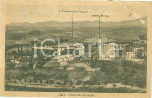 1928 CHIUSI (SI) Regio Conservatorio SANTO STEFANO Caserma Cartolina FP NV