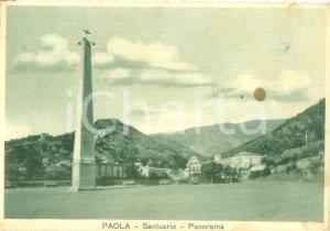 1953 PAOLA (CS) Santuario di San Francesco *Cartolina FG VG