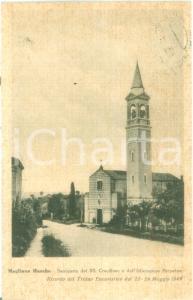 1956 MOGLIANO (MC) Santuario del Santissimo Crocifisso *Cartolina FP VG