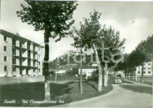 1955 ca CANELLI (AT) Veduta della Via Circonvallazione Est *Cartolina FG NV