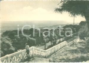 1958 CINGOLI (MC) Panorama della stazione climatica *Cartolina FG VG