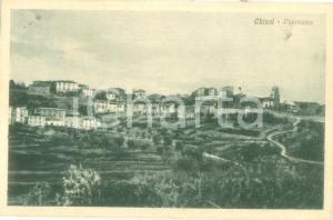 1918 CHIUSI (SI) Panorama dai campi *Cartolina postale FP VG