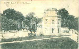 1926 CASERTA Parco Reale LA CASTELLUCCIA *Cartolina postale FP VG