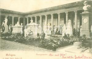 1903 BOLOGNA L'interno del Camposanto *Cartolina postale FP VG