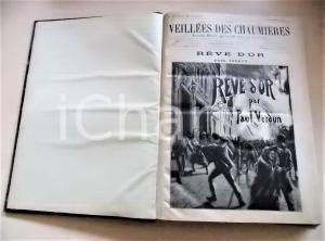 1890 - 1891 LES VEILLEES DES CHAUMIERES nn. 679-730 Annata COMPLETA in volume