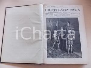 1888 - 1889 LES VEILLEES DES CHAUMIERES nn. 575-626 Annata COMPLETA in volume