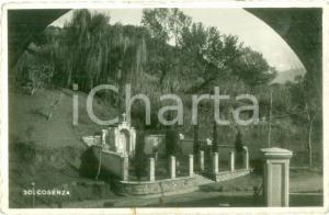 1943 COSENZA Cappella funeraria sotto il colle *Cartolina FP VG