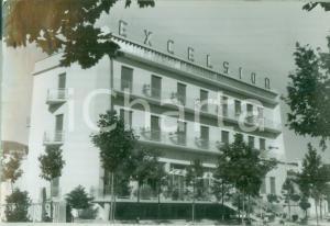 1959 CESENATICO (FC) La facciata dell'albergo EXCELSIOR Cartolina FG VG