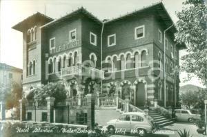 1962 CESENATICO (FC) L'Hotel ATLANTICA su Viale Bologna Cartolina FG VG