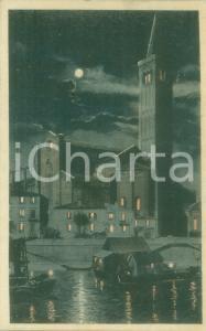 1921 VERONA L'abside della Chiesa di SANT'ANASTASIA *Cartolina FP VG