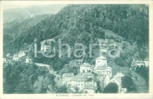 1940 CERVATTO (VC) Panorama del paese in VALSESIA *Cartolina FP VG