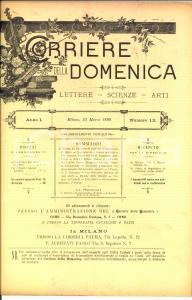 1890 CORRIERE DELLA DOMENICA Isotteo e Chimera di D'ANNUNZIO *Anno I n° 12