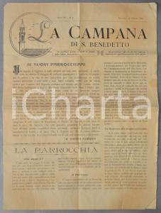 1925 PADOVA LA CAMPANA DI SAN BENEDETTO La donna nell'osteria *Anno IV n° 6