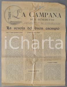 1924 PADOVA LA CAMPANA DI SAN BENEDETTO Lotta contro la bestemmia *Anno III n° 5