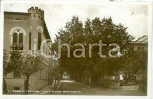 1935 ca CASCIANA TERME Viale Regina Margherita a Bagni di Casciana Cartolina