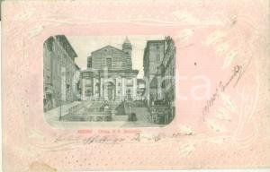 1903 ANCONA Chiesa di San Domenico Cartolina postale FP VG