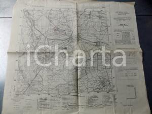 1950 ca Istituto Geografico Militare CARTA D'ITALIA - CUGGIONO *Mappa 55x50 cm