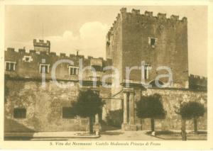 1950 SAN VITO DEI NORMANNI Castello medioevale Principe di FRASSO *Cartolina FG
