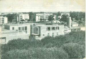 1960 SABAUDIA (LT) Panorama della Zona Villini *Cartolina postale FG VG