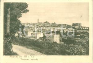 1942 MACERATA Panorama parziale della città *Cartolina postale FG VG